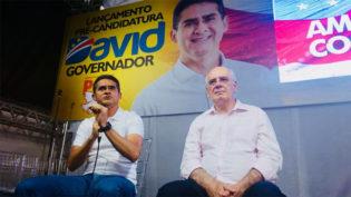 David Almeida lança sua candidatura a governador do Amazonas