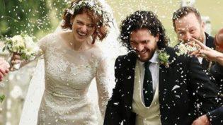 Atores de 'Game of Thrones' se casam em castelo na Escócia