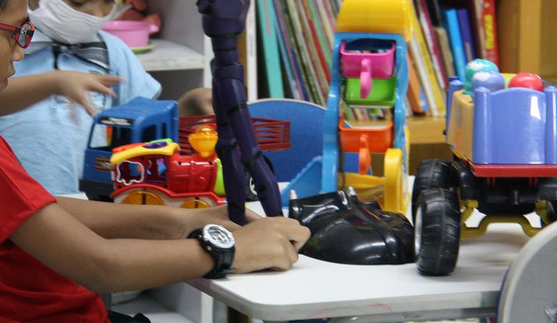 Grupo Raio de Sol dá assistência às crianças em tratamento contra doenças do sangue (Foto: Divulgação)