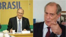 Geraldo Alckmin e Ciro Gomes dividem líderes do DEM sobre apoio à candidaturas à Presidência (Fotos: Ascom/PSDB e TV Globo/Reprodução)