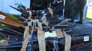 TJAM encaminha 446 armas de fogo para destruição no Exército Brasileiro