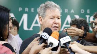 Arthur diz que tem acerto com Amazonino 'para fazer Manaus e o Amazonas andarem juntos'