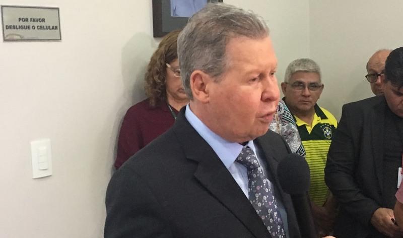 Prefeito Arthur Virgílio Neto anunciou contratação de agentes de saúde para priorizar trabalho de vacinação (Foto: ATUAL)