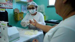 Teste rápido para identificar hepatite