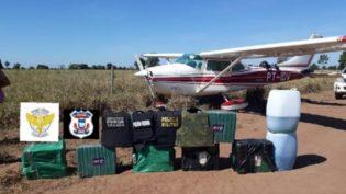 PF intercepta avião com 300 quilos de cocaína no Tocantins