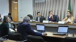 Senadora Vanessa Grazziotin (à esquerda) confrontou diretor do Dnit sobre 'descaso' com análise ambiental da BR-319 (Foto: Agência Senado)