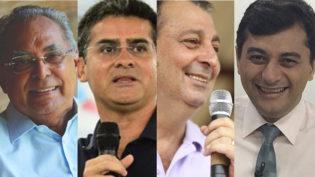 Disputa para o cargo de governador do Amazonas já tem cinco candidatos