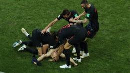 Croatas celebraram vitória gol, sofreram empate e venceram nos pênaltis (Foto: Fifa/Divulgação)