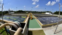 Estação ampliada terá maior capacidade de tratamento de esgoto na zona norte (Foto: Márcio James/Semcom)