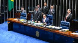 Presidente do Senado, Eunício Oliveira adiou votação sobre decretos legislativos (Foto: Marcos Oliveira/Ag. Senado)
