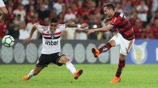 Com revés no Maracanã, Flamengo mantém vantagem de 1 ponto na liderança