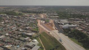Obras da Avenida das Flores chegam a 90%; entrega deve ser até novembro