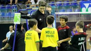 Atleta amazonense de 9 anos fica com bronze no Pan-Americano de Badminton