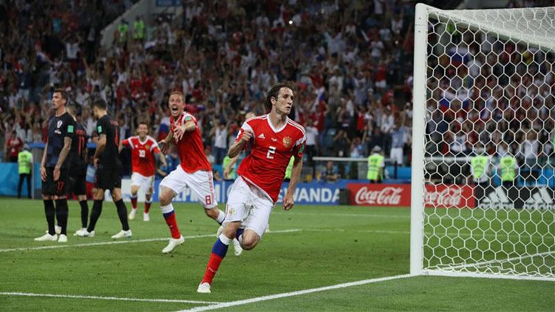 Brasileiro naturalizado Mário Fernandes marcou gol de empate na prorrogação, mas perdeu pênalti (Foto: Fifa/Divulgação)