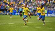 Neymar marcou o primeiro gol do Brasil na vitória sobre o México por 2 a 0 (Foto: Fifa/Divulgação)