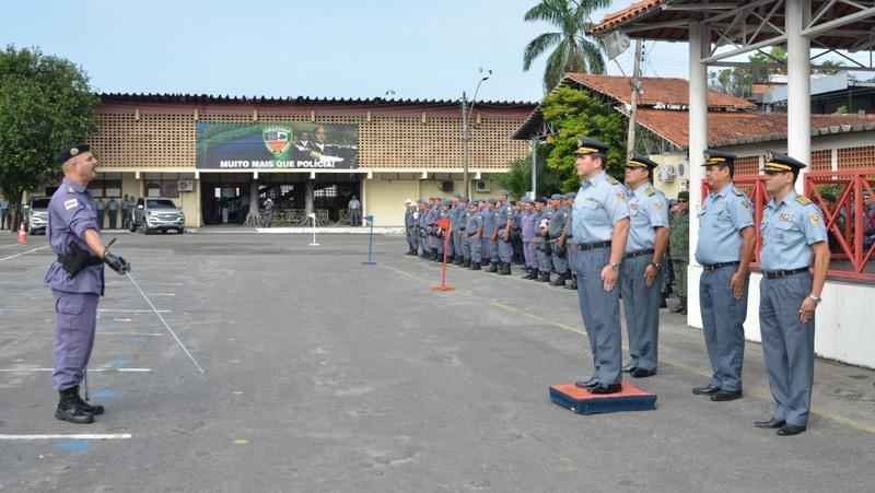Oficiais têm os maiores salários na Polícia Militar do Amazonas. Primeira parcela de reajuste será paga retroativa a abril (Foto: Valdo Leão/Secom)
