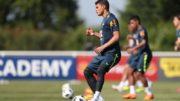Thiago Silva atribui bom desempenho da defesa ao reforço de atacantes na hora de conter adversários (Foto: Lucas Figueiredo/CBF)