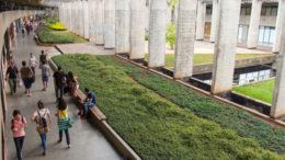 Universidade de Brasília: professora foi procurada por pessoas estranhas ao ambiente acadêmico (Foto: Isa Lima/Secom UnB)
