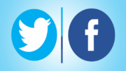 facebook - twitter redes sociais