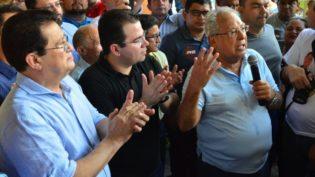 Amazonino recebe apoio do PHS do presidente da CMM, Wilker Barreto