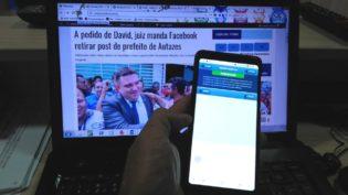 Juiz manda Amazonino excluir publicações do governo da plataforma para celular