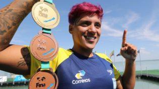 Prova de natação em Manaus terá as campeãs Sharon Rouwendaal e Marcela Cunha