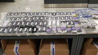 Polícia Federal apreende 246 iPhones com passageiro vindo dos EUA