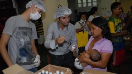 Trabalho com venezuelanos não terá vínculo empregatício e será por apenas seis meses (Foto: Semcom/Divulgação)
