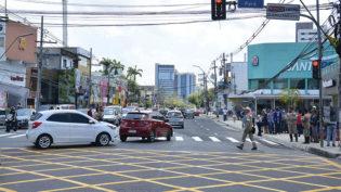 Trecho de avenida em Manaus é liberado após cinco meses e meio em obras