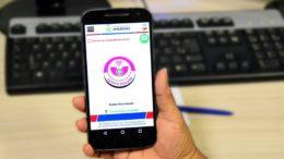 Com aplicativo, mulheres podem pedir socorro policial e proteção para atendimento imediato (Foto SSP-AM/Divulgação)