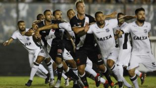 Vasco fica próximo à zona de rebaixamento após empate com o Ceará