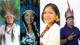 Candidatos indígenas fazem campanha para representar seus povos na ALE e na Câmara dos Deputados (Foto: Divulgação)
