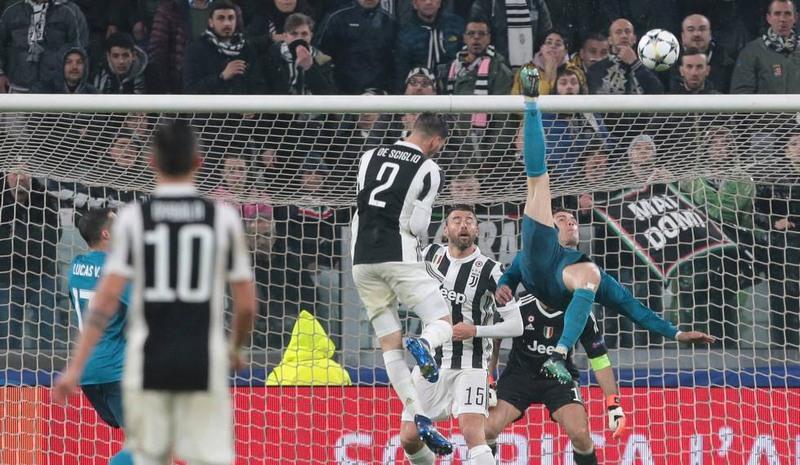 Gol de bicicleta de Cristiano Ronaldo é eleito o mais bonito na Europa 30ee63b688061