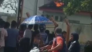 Presos ficam sem celular e drogas e depredam delegacia em Uarini, no AM