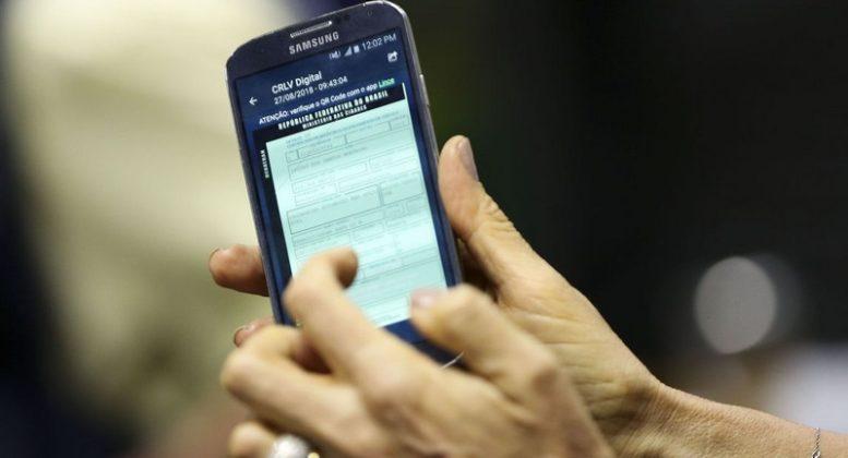 CRLV digital já está em testes no Distrito Federal. Adesão dos demais Estados é voluntária (Foto: Marcelo Camargo/ABr)