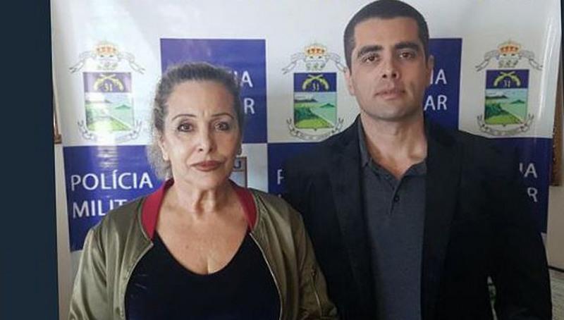 Maria de Fátima Barros Furtado, médica e mãe de Denis, também foi denunciada pelo MP-RJ (Foto: PC-RJ/Divulgação)