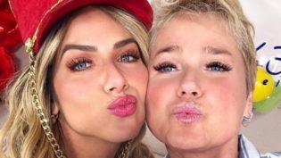 Giovanna Ewbank realiza sonho como 'paquita' ao lado de Xuxa