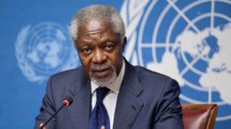 Kofi Annan ganhou o Nobel da Paz e foi contra a guerra dos EUA contra o Iraque (Foto: ONU/Divulgação)