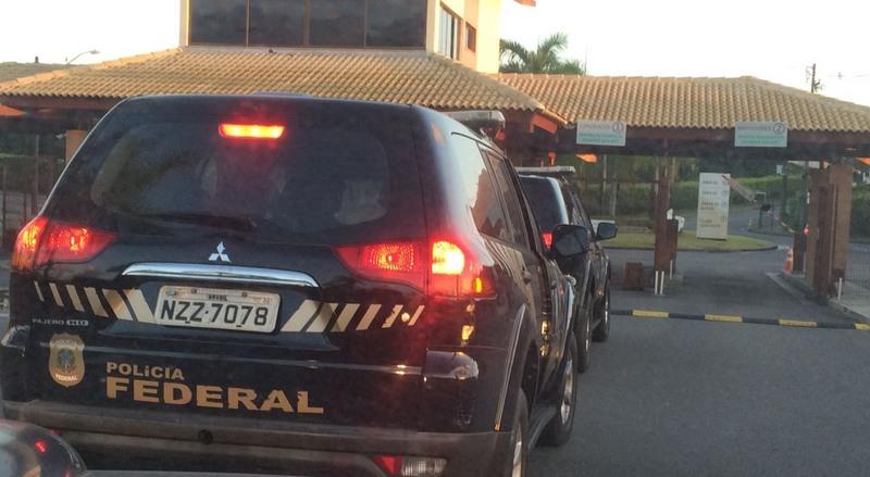 Policiais federais cumprem mandados de busca e apreensão em nova fase da Operação Java Jato (Foto: PF-RJ/Divulgação)