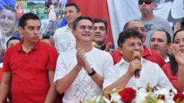 David Almeida e Sinesio Campos
