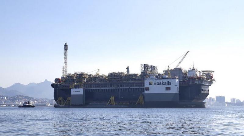 Maior parte da produção de petróleo e gás ocorre nos poços do pré-sal (Foto: Tânia Rêgo/ABr)