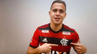 Flamengo anuncia contratação do volante paraguaio Piris da Motta