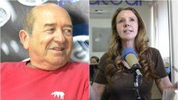 Petista Francisco Praciano diz que está nas mãos da comunista Vanessa Grazziotin a decisão de ele ser candidato ou não a Senador em aliança com o PSB (Fotos: ATUAL)