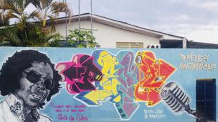 'Raízes Amazônicas' apresenta grafites em homenagem a artistas amazonenses