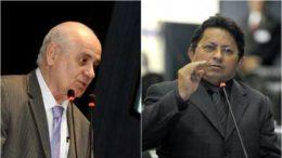 Serafim Corrêa, do PSB, diz que partido vai recorrer ao TSE e Sinésio Campos, do PT, diz que caso não envolve mais o diretório regional (Fotos: ALE/Divulgação)