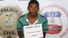 Vinícius Nascimento Mendes confessou ter participado de assassinato (Foto: Erlon Rodrigues/Polícia Civil)