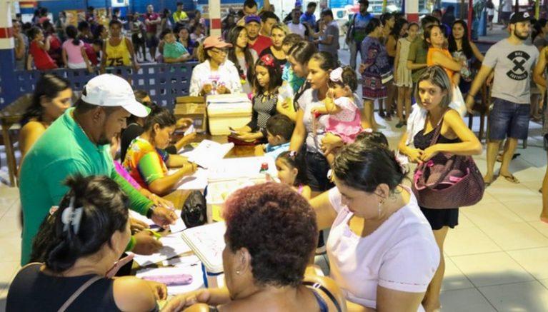 Vacinação contra o sarampo é intensificada em Manaus para impedir avanço da doença (Foto: Semsa/Divulgação)