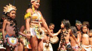 Mostra de música indígena lota o Teatro Amazonas em duas noites