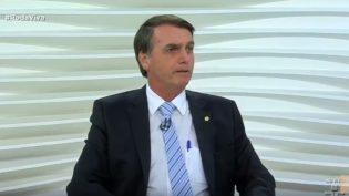 "Uma breve análise sobre Bolsonaro no ""Roda Viva"""