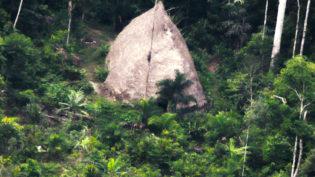 Funai divulga vídeo de índios isolados no Vale do Javari, no Amazonas